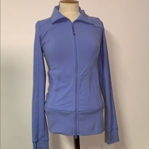 Lululemon LIKE NEW Stride Light Purple Zip-Up